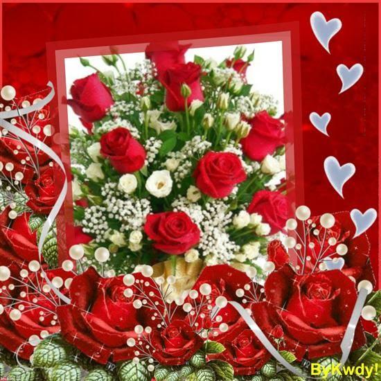 Od iubirii - Image bouquet de roses gratuit ...