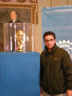 Con la Copa del Mundo
