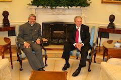 Click en la foto para ver el video del dialogo entre Lugo y Bush