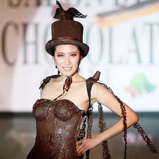 chocolate fashion show of chaina