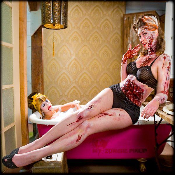 zombie calendar 2010