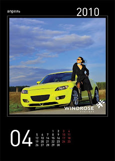 sexy windrose stewardess calendar 5