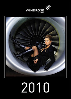 sexy windrose stewardess calendar