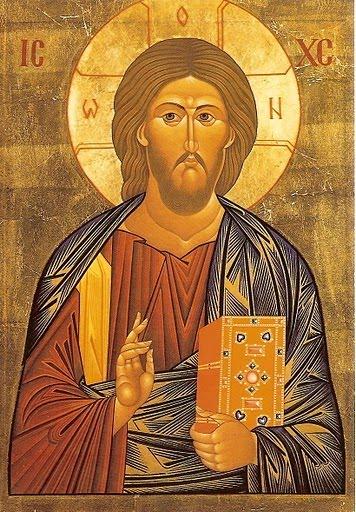 Icone du Christ pentocrator