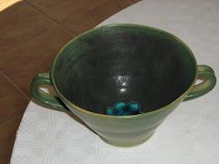 frukostkopp  kan beställas i vitt eller blått