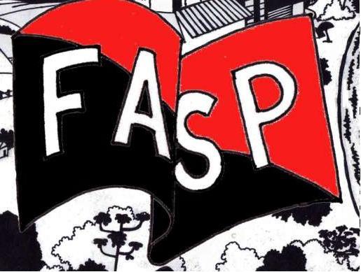 Bandeira Vermelha e Negra da FASP