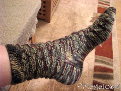 Mina färdiga Monkey-sockor.(3)