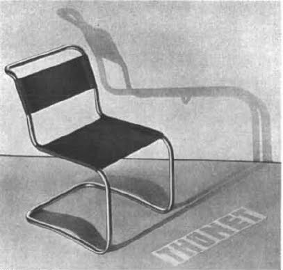 Breuer, Tubular Steel Chair (1928 9). This Is Breueru0027s Version Of Stamu0027s  Chairu2014also Known As The Thonet B33, And The Inspiration For The  Standard Möbel L33 ...