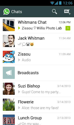 WhatsApp Messenger v2.11.75