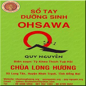Sổ Tay Dưỡng Sinh OHSAWA - Thích Tuệ Hải
