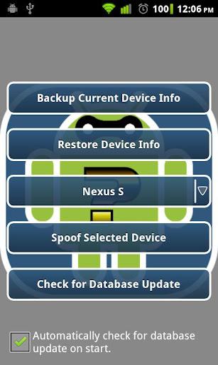 Device Spoofer v1.4.1 Apk Full App