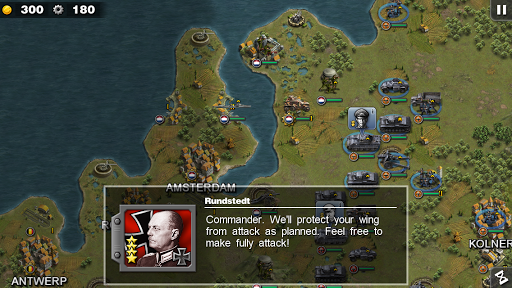 Glory of Generals HD v1.0.4 Full Version Apk Download