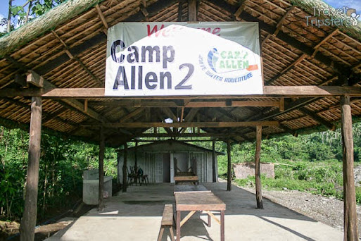 camp allen white water rafting adventure