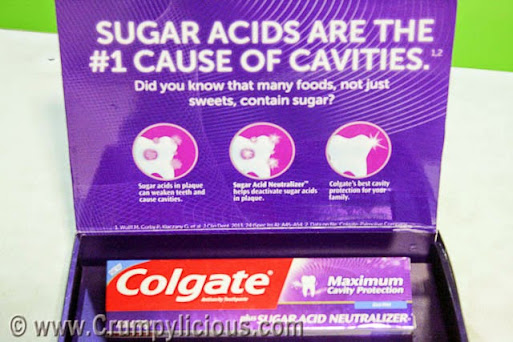 colgate maximum cavity protection sugar acid neutralizer toothpaste