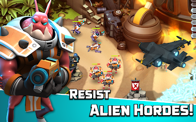 Alien Creeps TD v1.3.1 MOD Apk [Unlimited Gold and Gems]