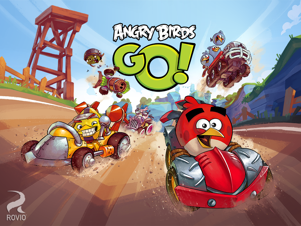 Angry Birds Go! for Android