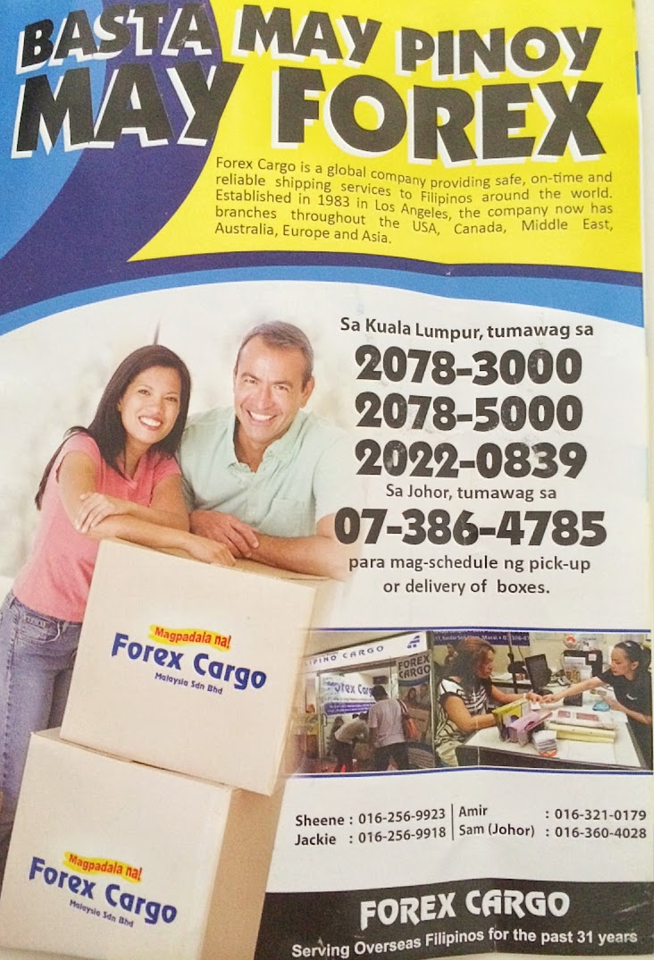 Forex cargo office in manila