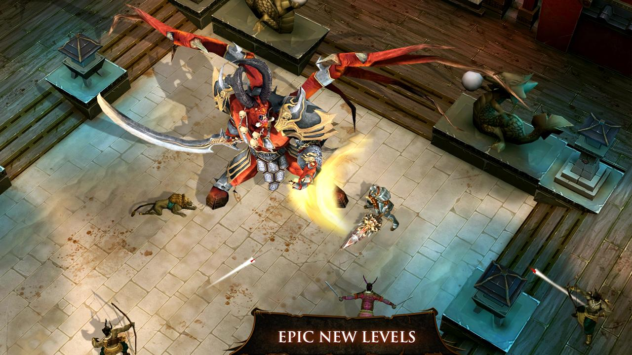 Dungeon Hunter 4 Android Apk