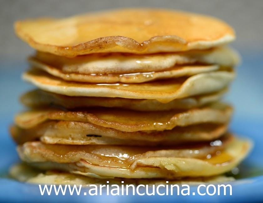 Blog di cucina di Aria: Pancakes senza uova