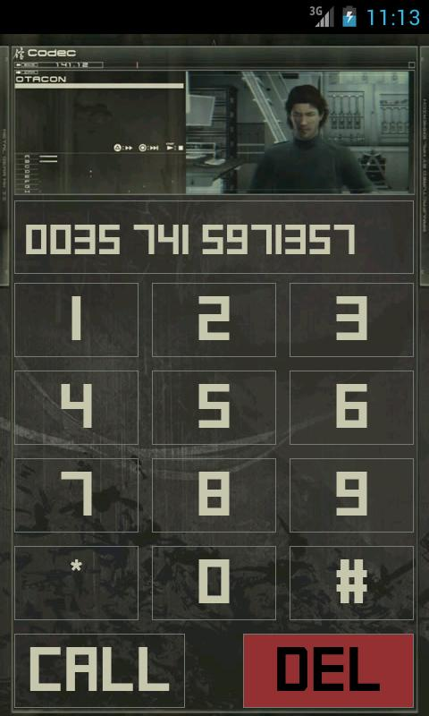 Descargar Metal Gear Solid: Codec Dialer v3.2.0 (Gratis)