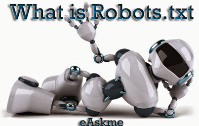 What is Robots.txt file and how to optimize for WordPress blog : eAskme