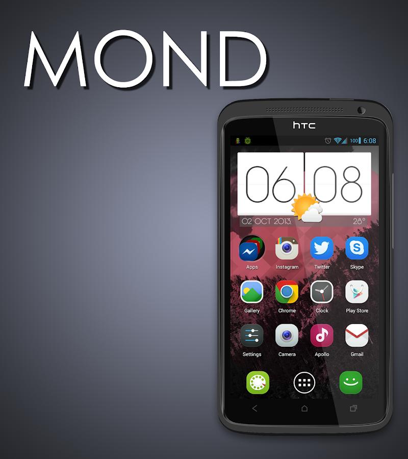MOND - Launcher Theme - v2.0.1.4 APK ~ Pro APK Download