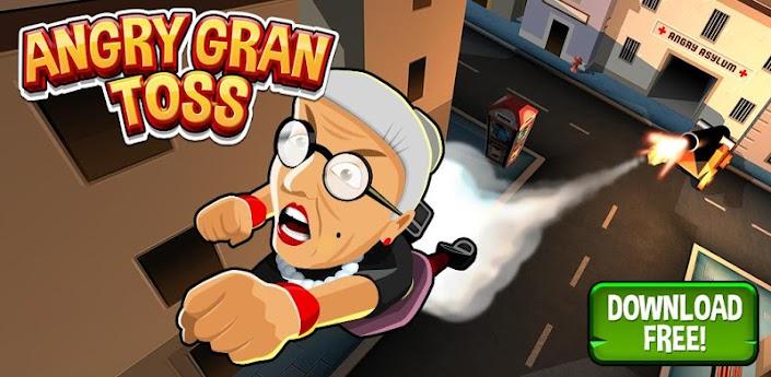 Angry Gran Toss Apk v1.0.4