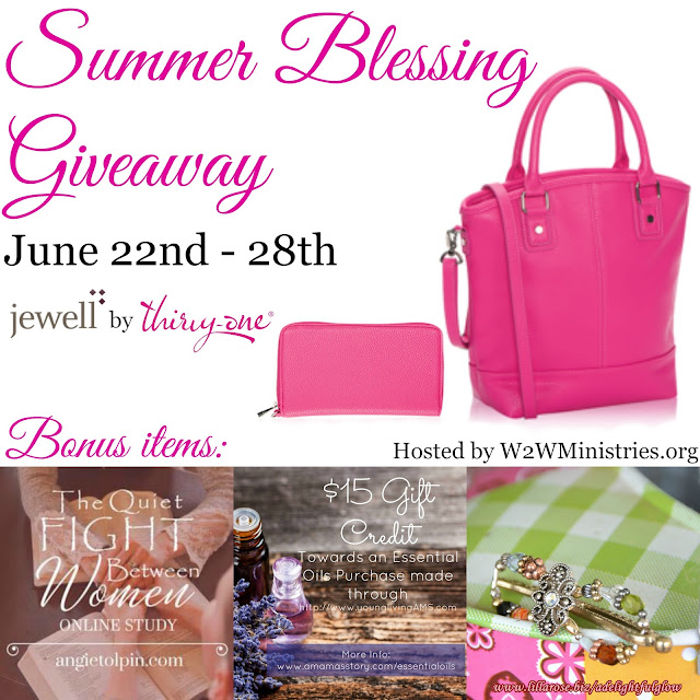 It's a Summer Blessing Giveaway