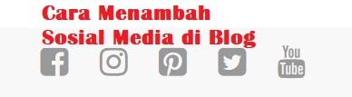 cara menambah widget sosial media keren di blog