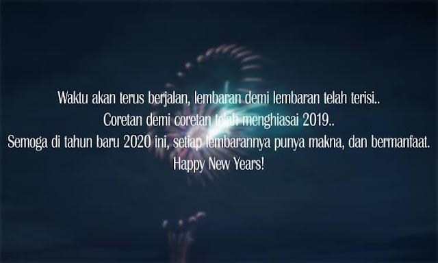 Kata Kata Harapan dan Doa di Tahun Baru