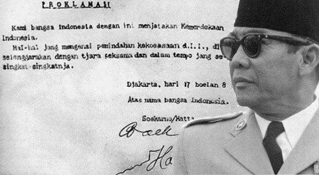 Teks Proklamasi Kemerdekaan Republik Indonesia