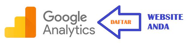 daftar google analytics untuk website atau blog