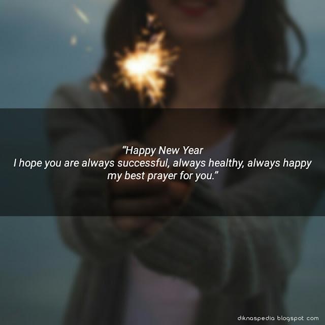 100 Kata Ucapan Selamat Tahun Baru + Gambar