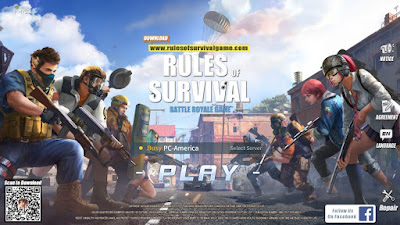 Cara Bermain Rules of Survival (ROS) di PC atau Laptop Terbaru 2019