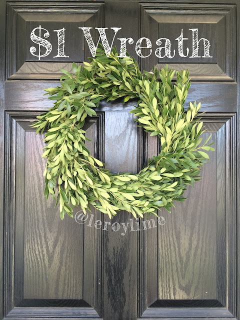 $1 Green Wreath - Leroylime