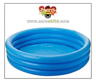 مسبح اطفال نفخ ازرق