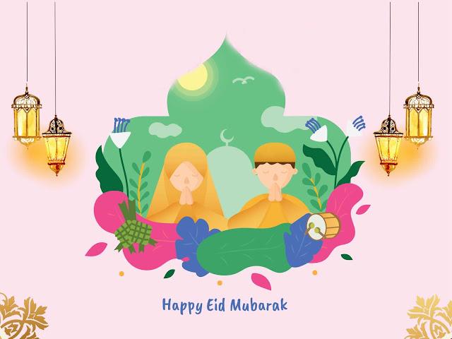 Eid Greetings Card