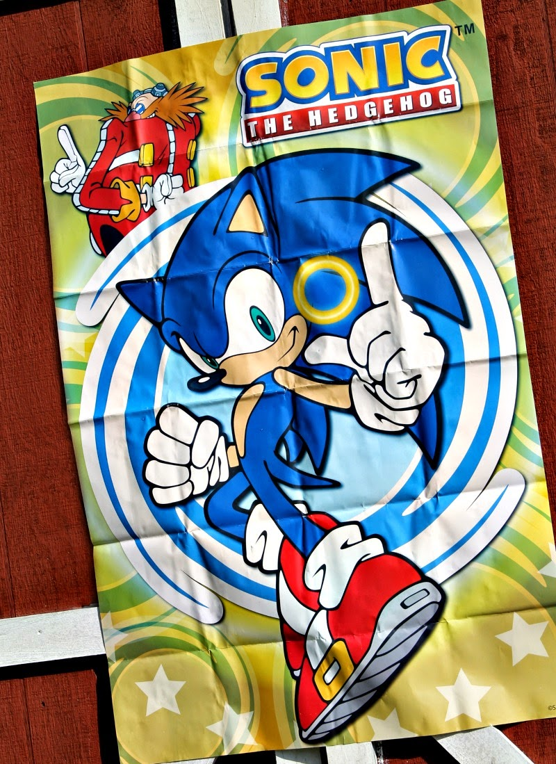 Sonic the hedgehog games, sonic the hedgehog party, sonic the hedgehog poster