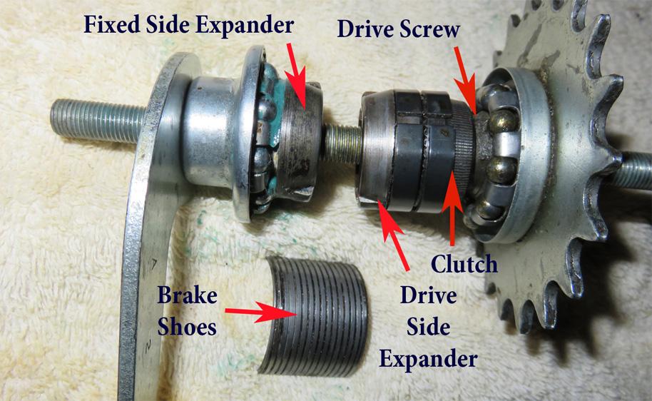 How Bicycle Coaster Brakes Work - Doug Barnes