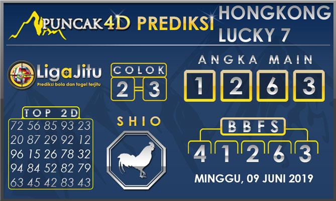 PREDIKSI TOGEL HONGKONG LUCKY7 PUNCAK4D 09 JUNI 2019