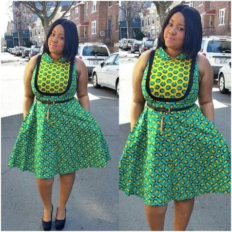 Latest Ankara Gown Styles 2017 For Ladies