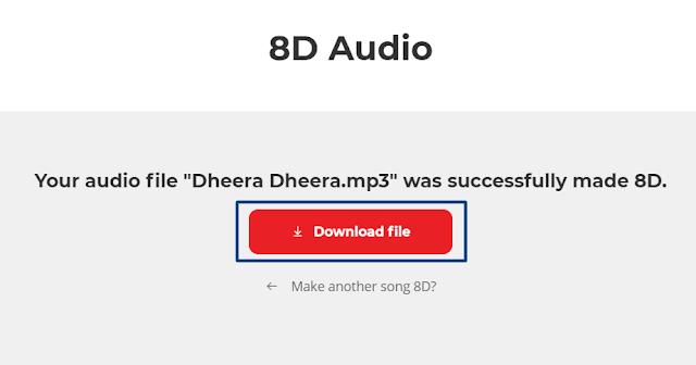 Download 8D audio