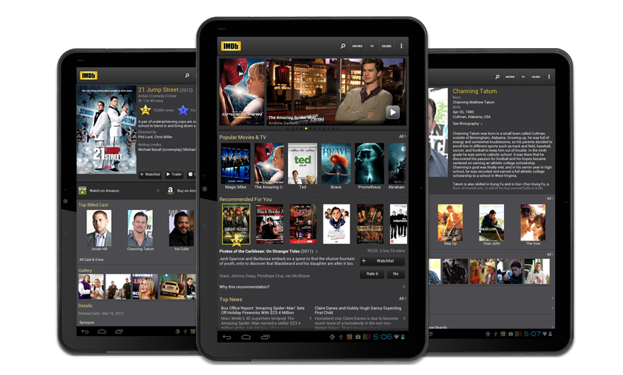 Top 5 free movie apps for android tablets in 2012 for App tablet android gratis