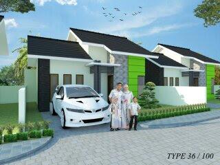 rumah syariah green aufa residence Padang