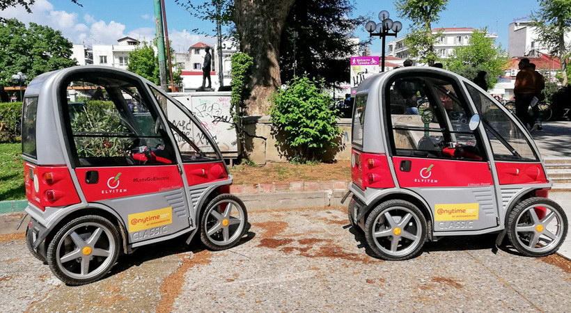 Δωρεάν για τους πολίτες ηλεκτροκίνητα οχήματα στα Τρίκαλα
