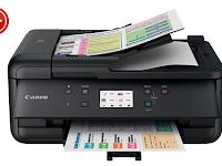 Canon TR8580 Printer drivers Download