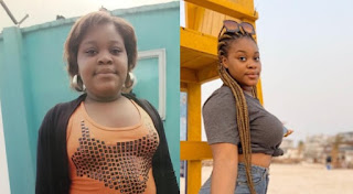 Nigerian lady shocks social media users with incredible before and after photos