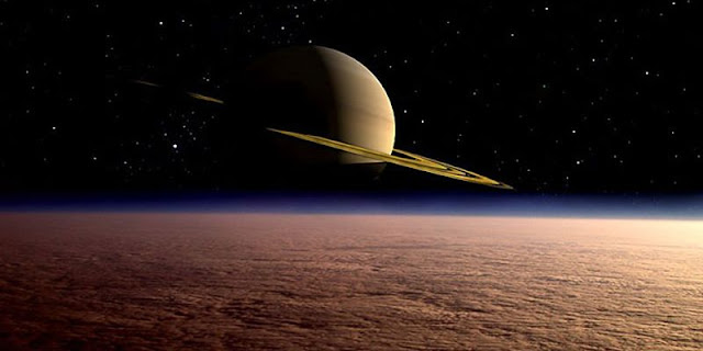 satellite of Saturn have found lakes and seas