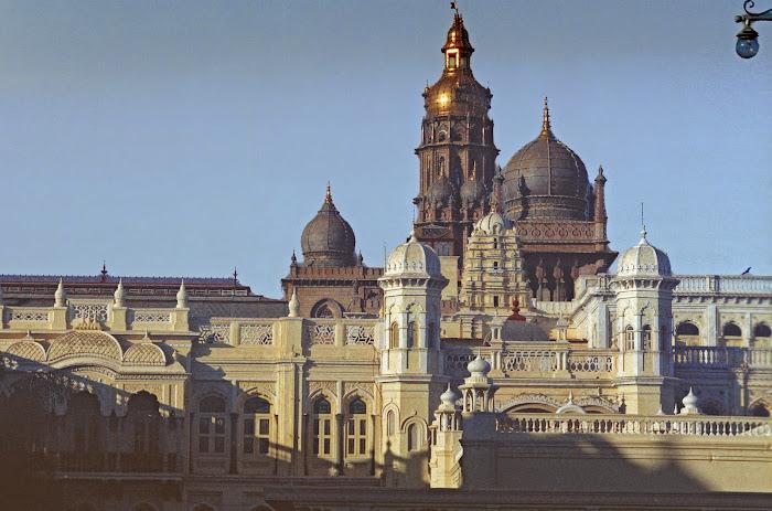 Mysore, Mysuru, Sayyaji Rao Road, Palais du Maharajah, © L. Gigout, 1990