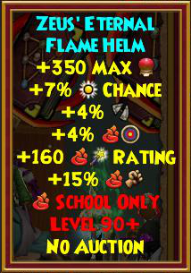 Wizard101 Best Gear - Hades Tartarus Gear Drops - Level 90+
